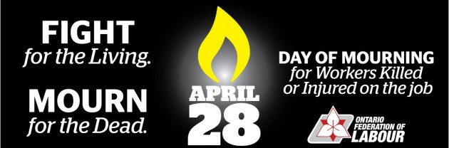April 28 – Day of Mourning – Oxford Regional Labour Council